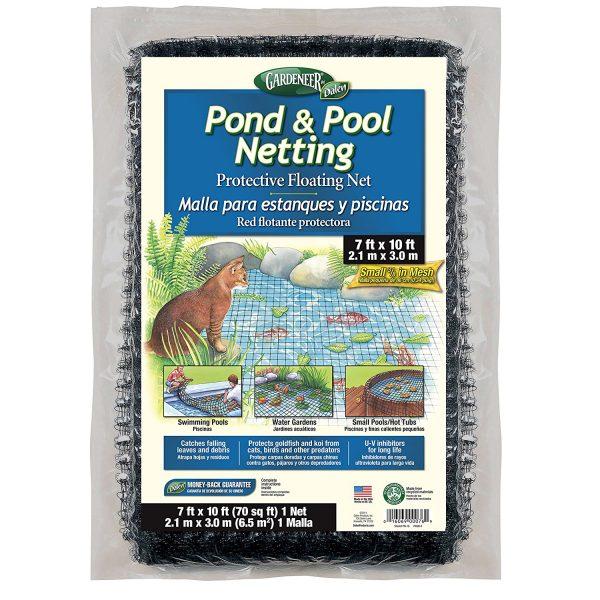 pond neting 7x10 Hanover koi farms