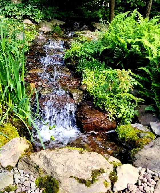 pondless waterfall hanover koi farms