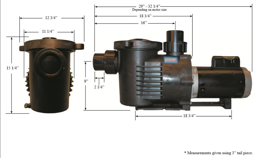 Low rpm artesianpro pond and waterfall pump 1 2 hp 7800 for What size pond pump do i need
