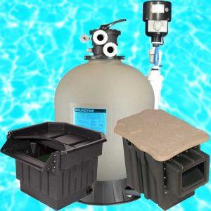 Filters, Skimmers, Waterfalls, & Sieves